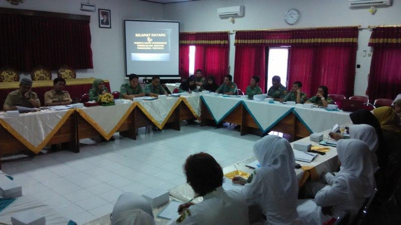 Rapat teknis kepegawaian jabatan fungsional