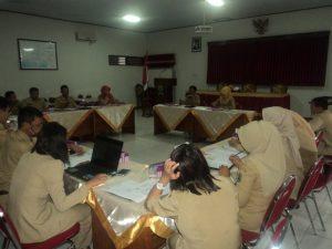 Rapat Terkait Penyusunan Standar Pelayanan