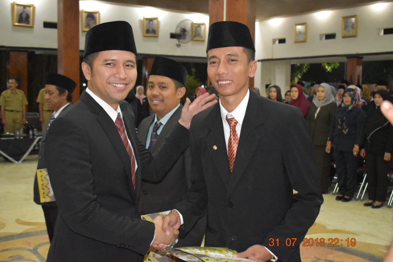Bupati Lantik Pejabat Administrasi